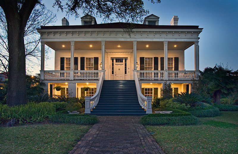 Soniat duffosat house new orleans for Mansions in new orleans